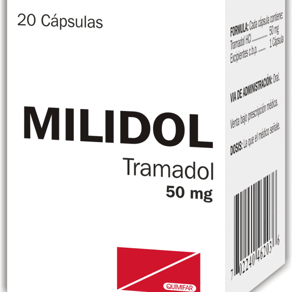 Milidol Capsula 50 mg caja x20