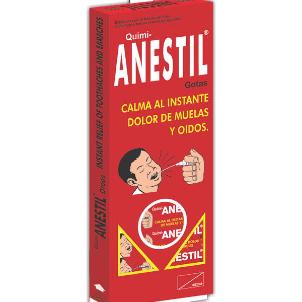 Anestil Gotas 5 ml dispensador x12 frascos