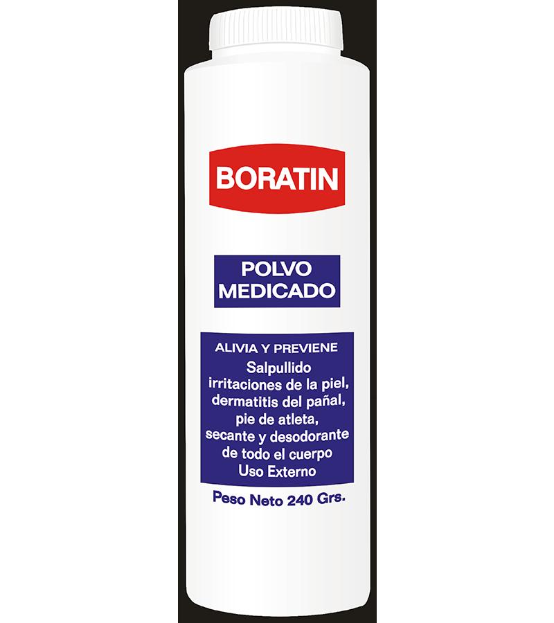 Boratin Talco Medicado frasco 240 g