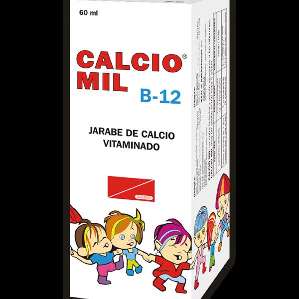 Calcio Mil B-12 Jarabe frasco 60 ml
