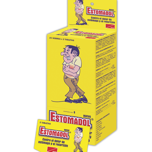Estomadol Dispensador 25 estuches x2 tabletas