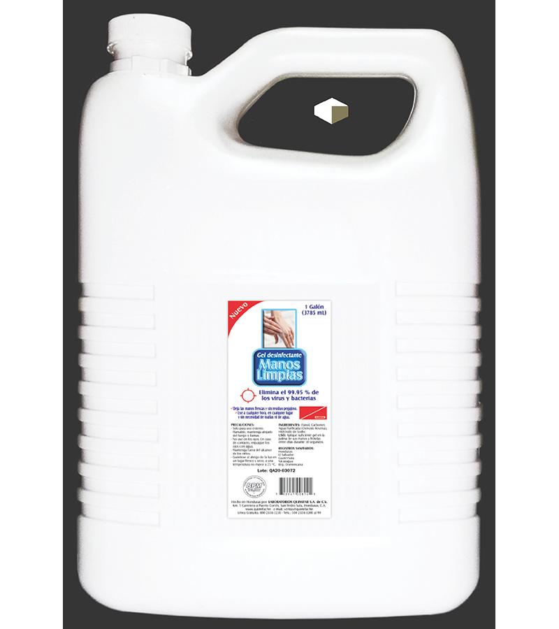 Manos Limpias Gel Desinfectante 3.785 Litros