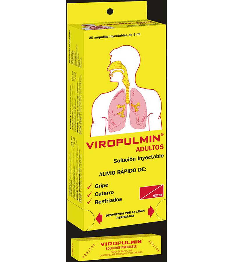 Viropulmin Ampolla Inyectable Adulto Dispensador x20