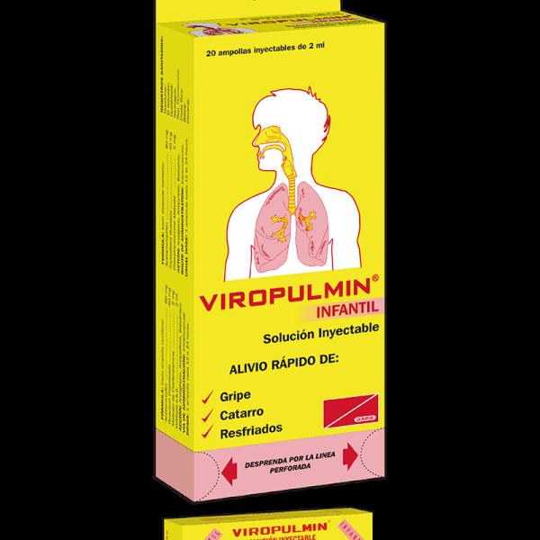 Viropulmin Ampolla Inyectable Infantil Dispensador x20