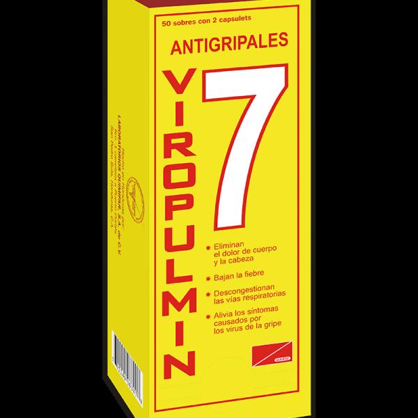 Viropulmin Dispensador 50 sobres x2 tabletas c/u