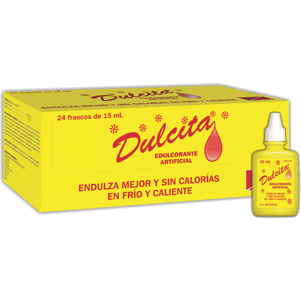 Dulcita Gotas frasco 15 ml