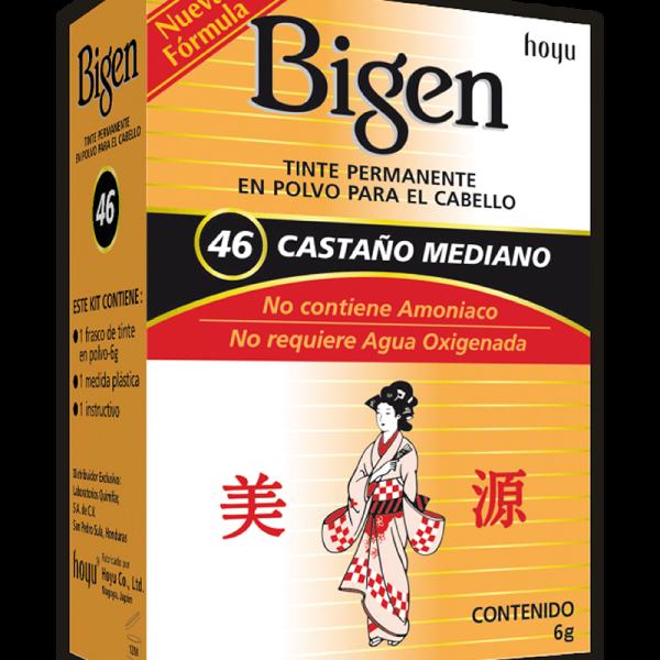 Tinte Bigen #46 Castaño Mediano
