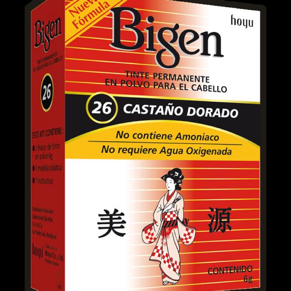 Tinte Bigen #26 Castaño Dorado