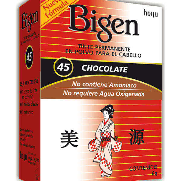 Tinte Bigen #45 Chocolate