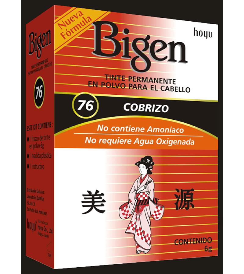Tinte Bigen #76 Cobrizo