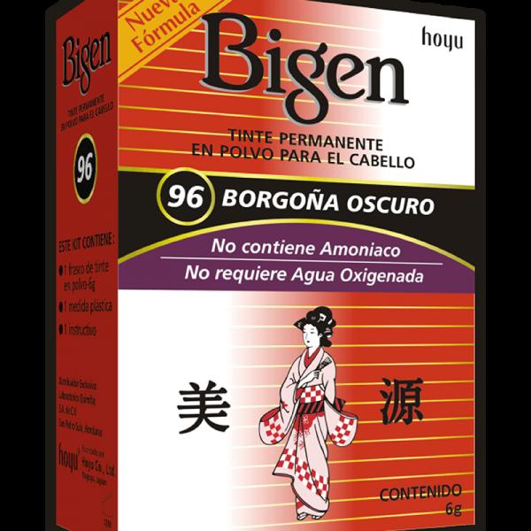 Tinte Bigen #96 Borgoña Oscuro
