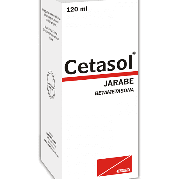 Cetasol Ampolla Inyectable 8 mg/ 2 ml Caja x1