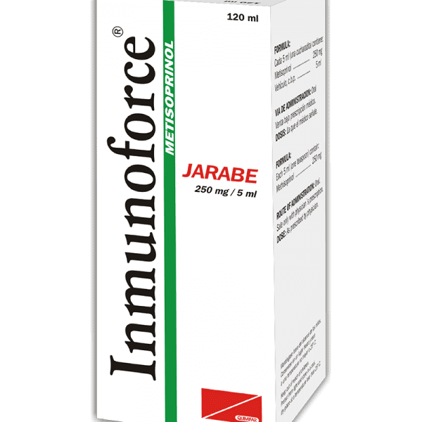 Inmunoforce Jarabe 250 mg / 5 ml frasco 120 ml
