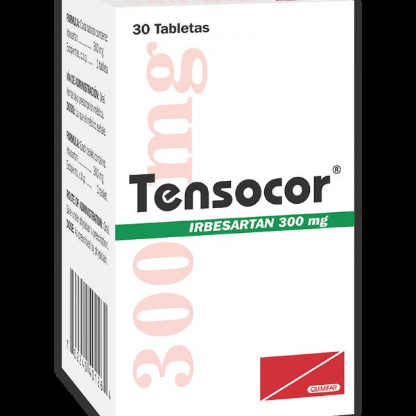 Tensocor Tableta 300 mg caja x20