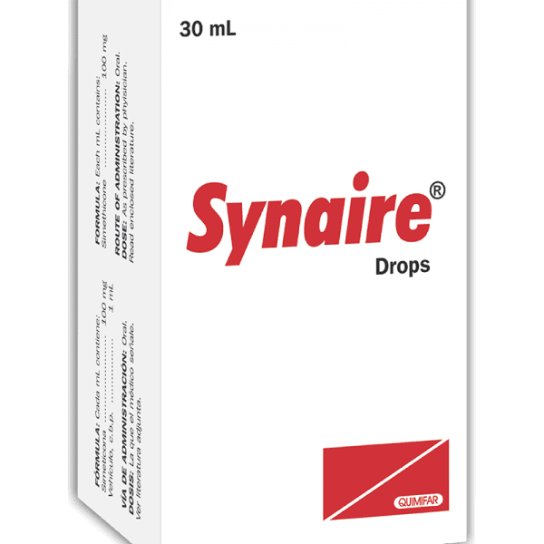 Synaire Gotas 100 mg / 1 ml frasco 30 ml