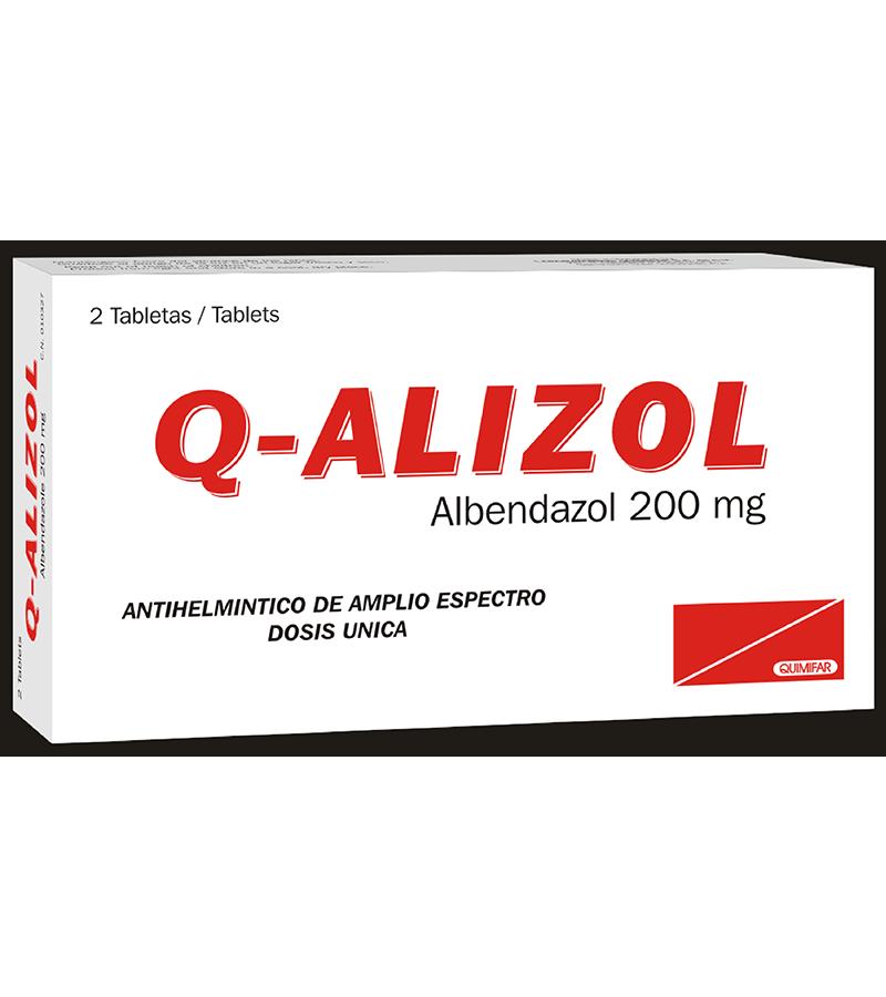 Alizol Tableta 200 mg caja x2