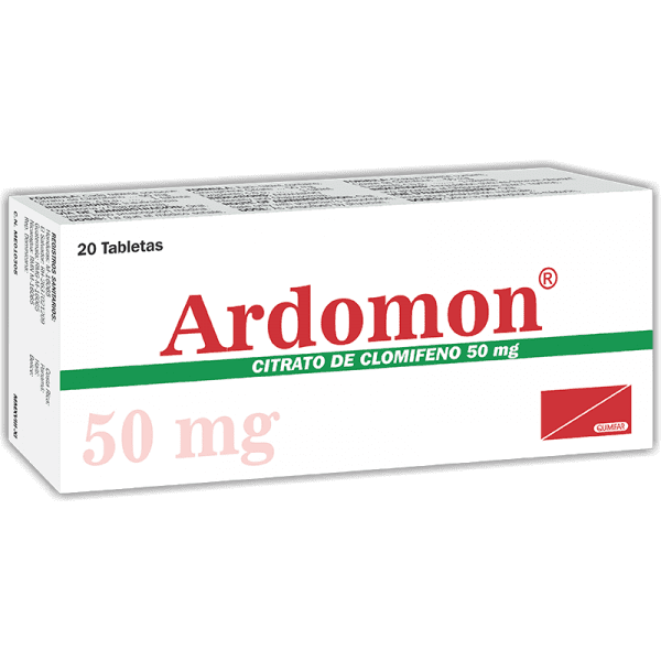 Ardomon Tableta 50 mg caja x20