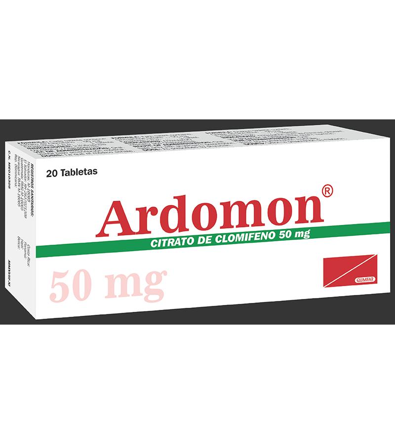 Ardomon Tableta 50 mg caja x20