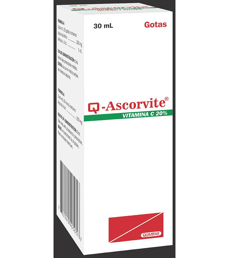 Q-ascorvite Gotas frasco 30 ml