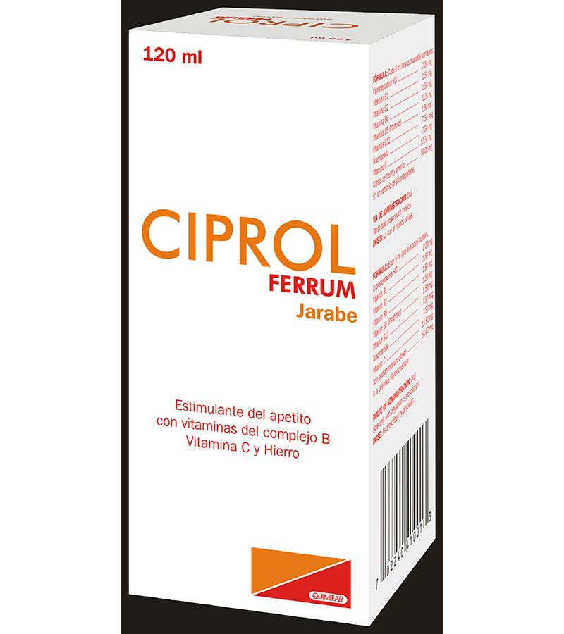 Ciprol Liquido frasco 120 ml