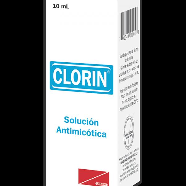 Clorin Solucion al 2% frasco 10 ml