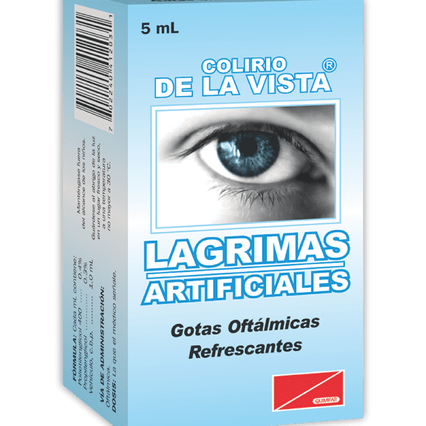 Colirio Lagrimas Artificiales frasco 5 ml