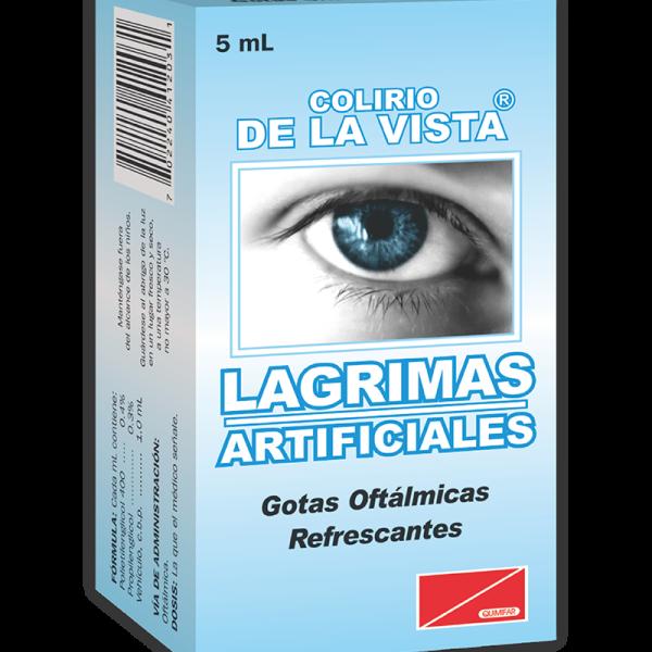 Colirio Lagrimas Artificiales frasco 5 ml