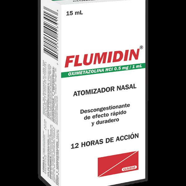 Flumidin Atomizador Nasal frasco 15 ml