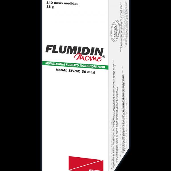 Flumidin Mome Atomizador Nasal para adultos 18 g