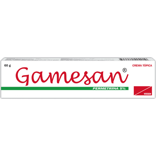 Gamesan Crema 50 mg / 1g  tubo 60 g