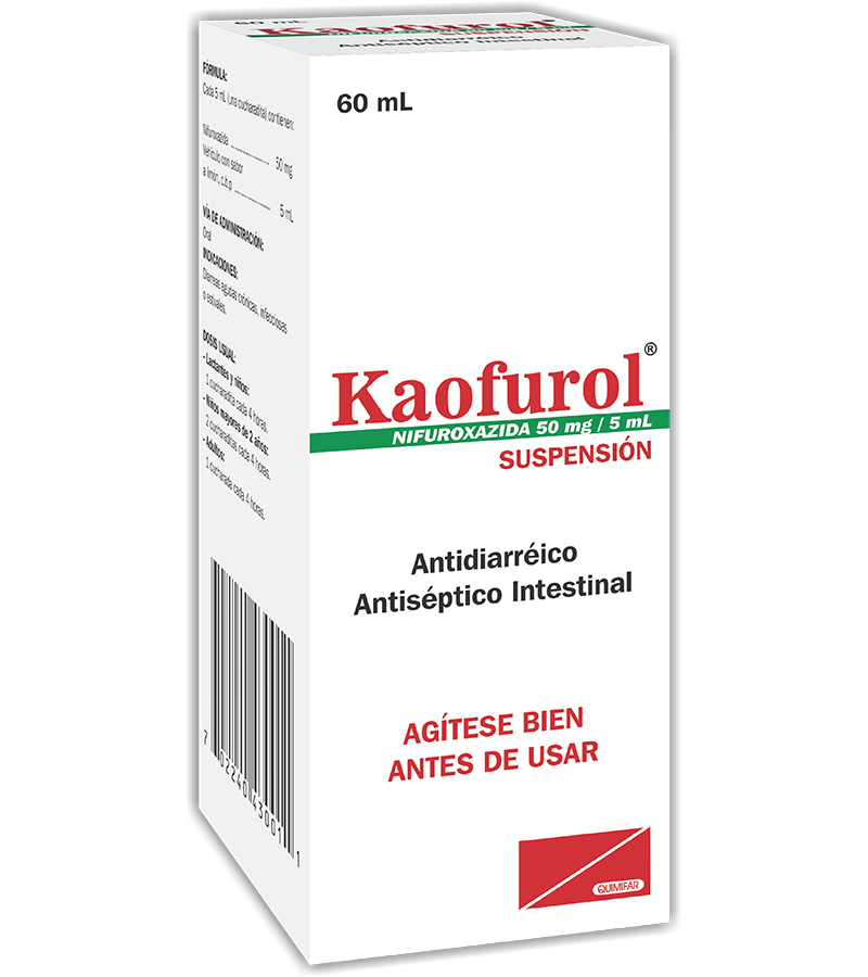 Kaofurol Suspension frasco 60 ml