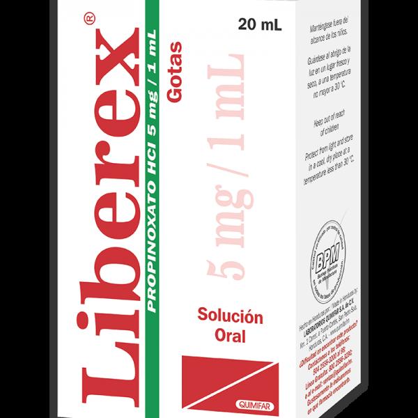 Liberex Gotas Pediatricas frasco 20 ml
