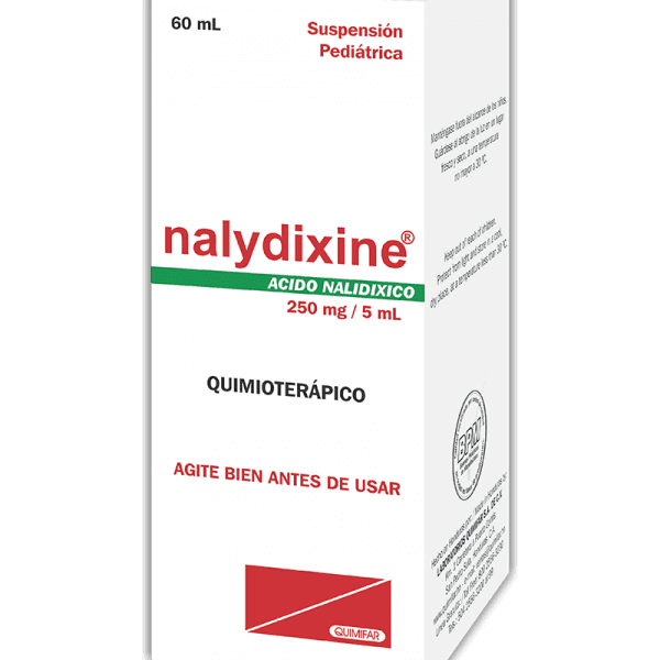 Nalydixine Suspension Pediatrica frasco 60 ml