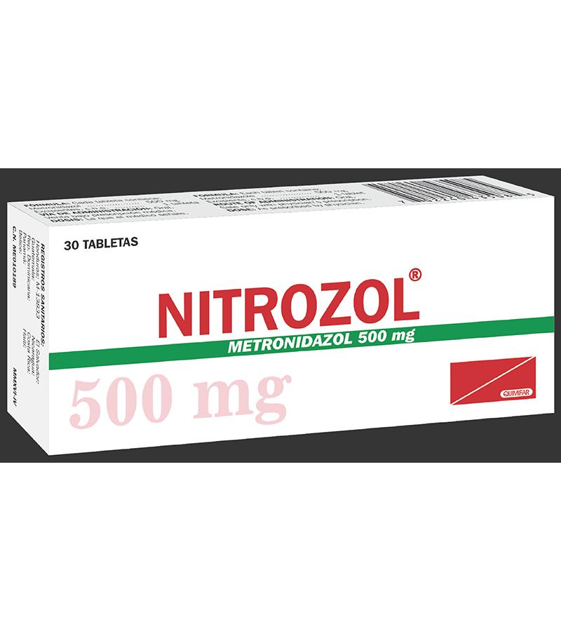 Nitrozol Tableta 500 mg caja x30