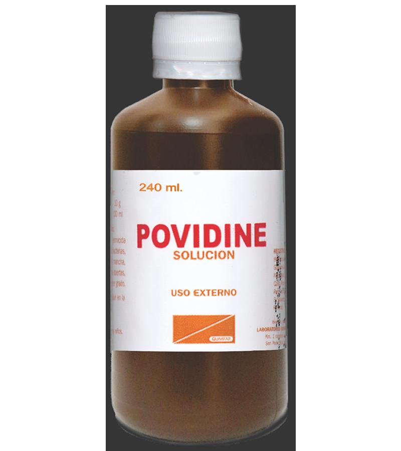 Povidine Solucion frasco 240 ml