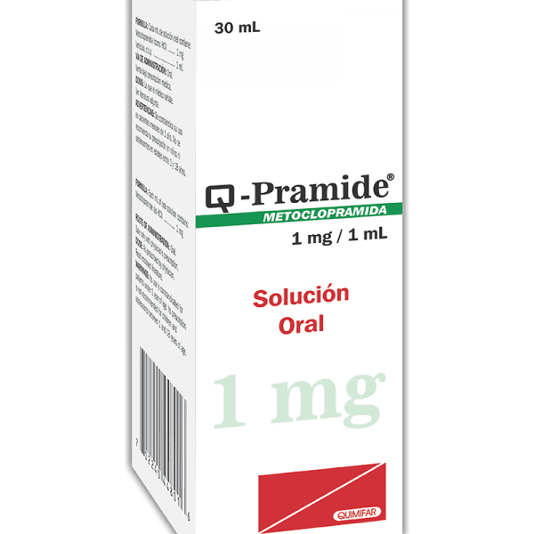 Q-Pramide Gotas 1 mg / 1 ml frasco 30 ml