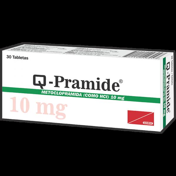 Q-Pramide tabletas 10 mg caja x30