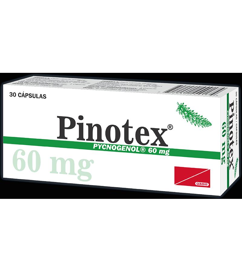 Pinotex Capsulas 60 mg caja x30