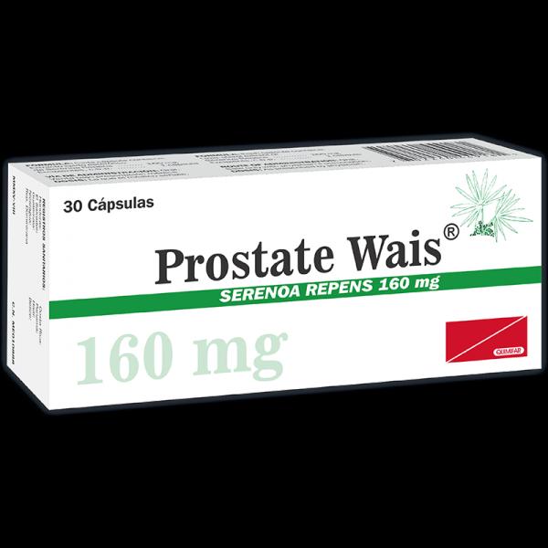 Prostate Wais Capsula 160 mg caja x30