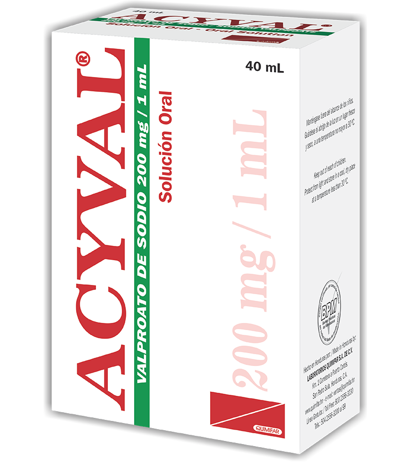 Acyval Solucion Oral (Gotas) 200 mg / 1 ml frasco 40 ml