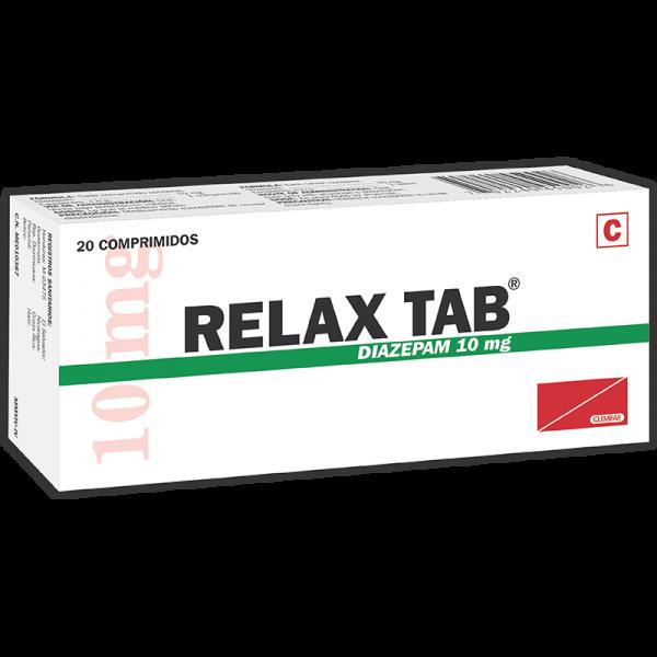 Relax-Tab Tableta 10 mg caja x20