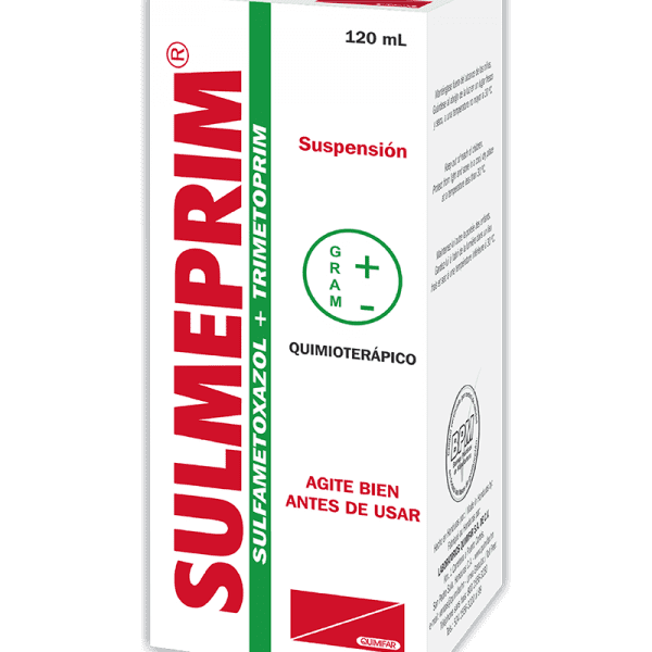 Sulmeprin Suspension Oral 40/200 mg frasco 120 ml
