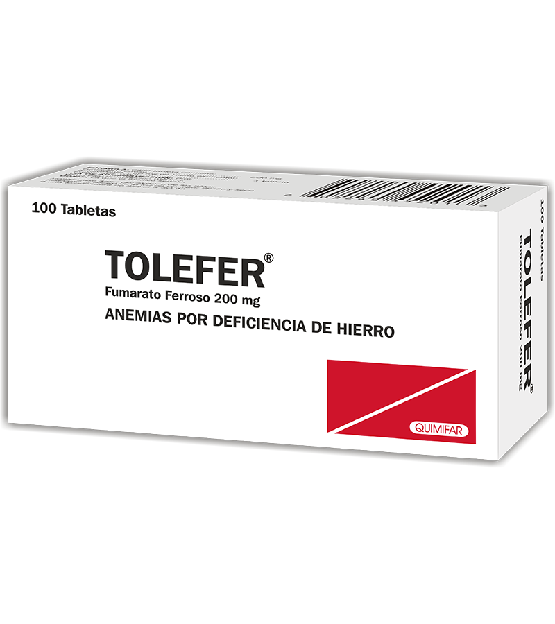 Tolefer Tableta 200 mg caja x100