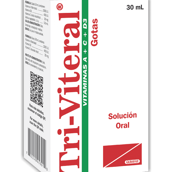 Tri-Viteral Gotas Pediatricas frasco 30 ml