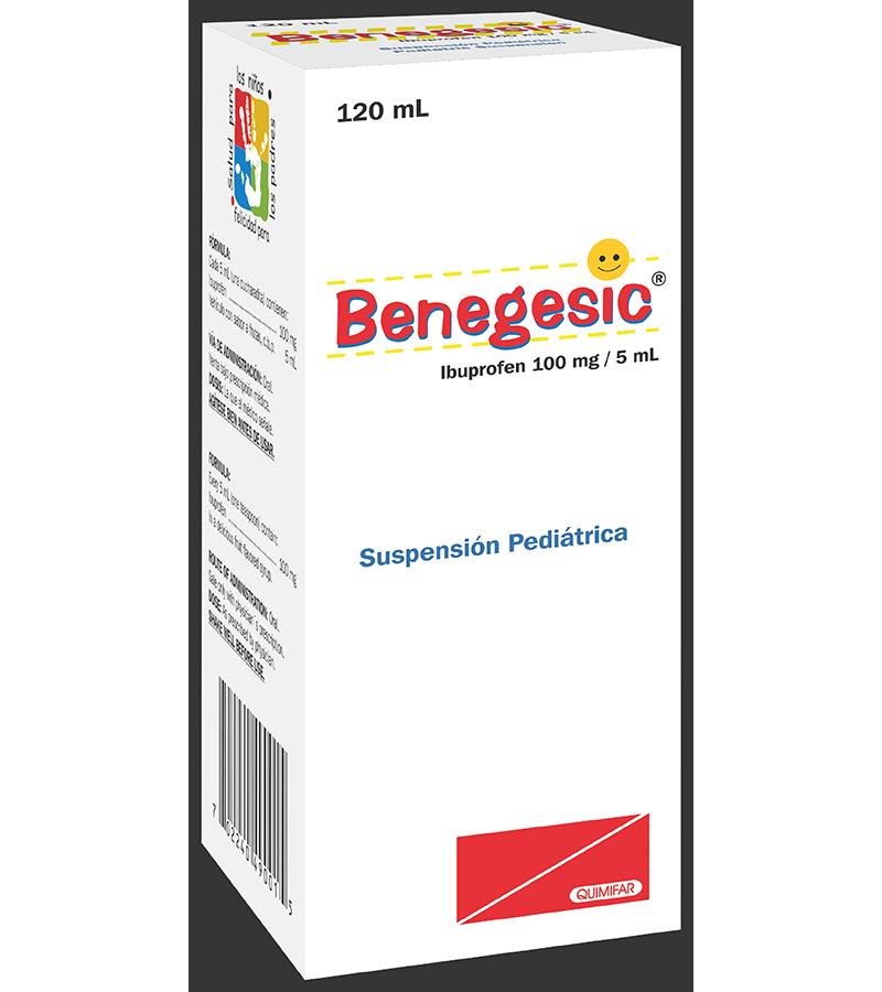 Benegesic Suspension Pediatrica frasco 120 ml