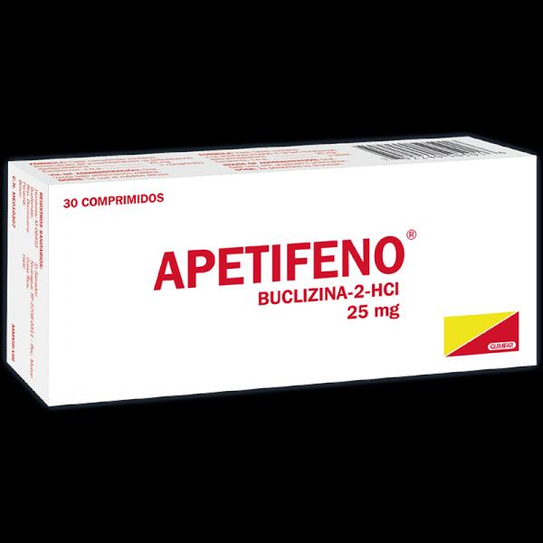 Apetifeno Tableta caja x30