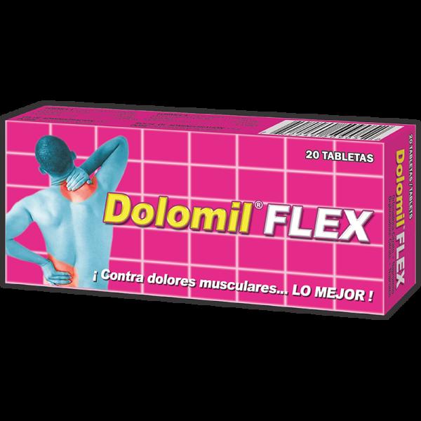 Dolomil Flex Tableta caja x20
