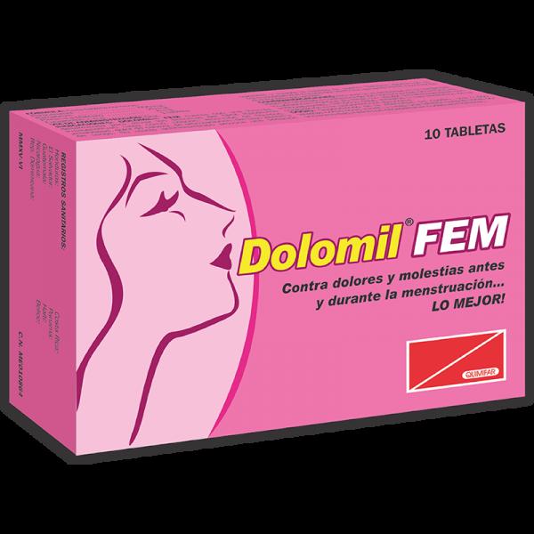 Dolomil Fem Tableta caja x10