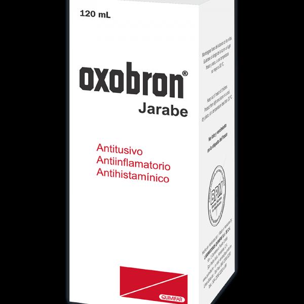 Oxobron Jarabe frasco 120 ml