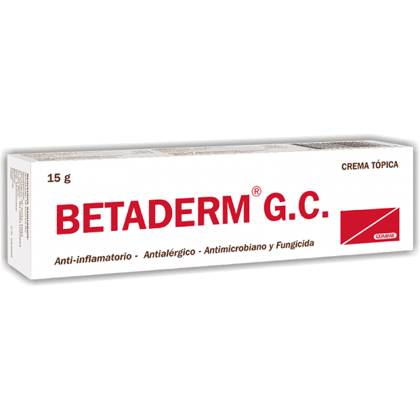 Betaderm GC Crema tubo 15 g
